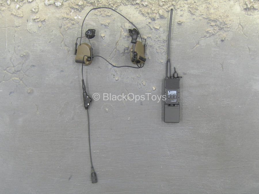 US NSWDG - Black Radio w/Headset