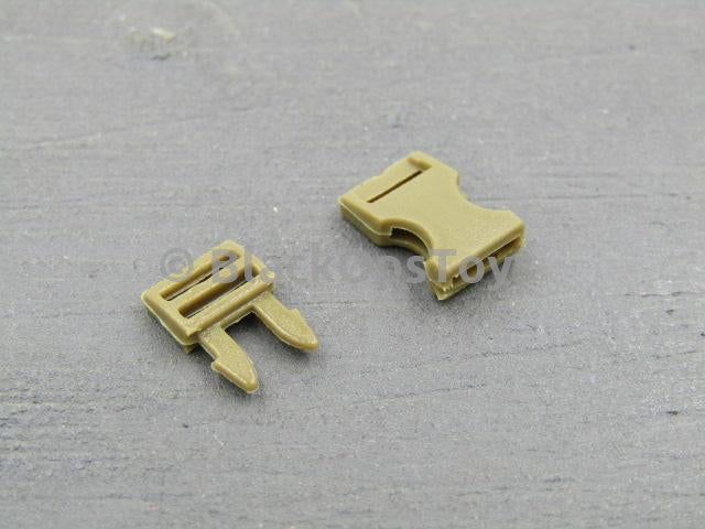 ACE Tan 5 mm Side-Squeeze Buckle Set