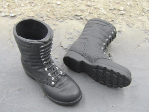 21st Century Russian Black Foot Type Boots