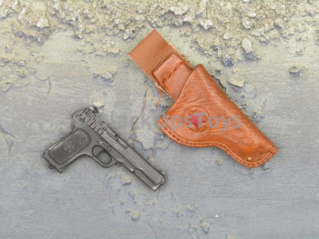 Dragunov Sniper Pistol & Leather Holster