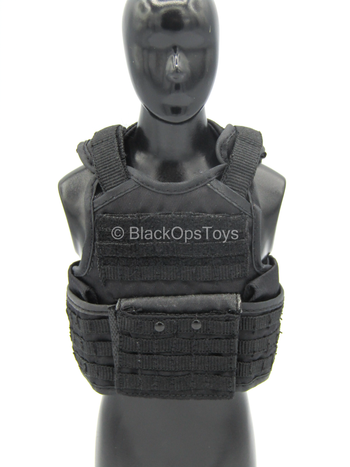 FBI - CIRG - Black MOLLE Plate Carrier