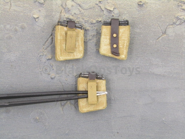 Russian Dragunov Sniper Rifle Rare Molded Mag Pouches with Mags