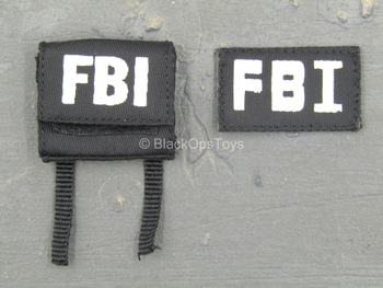 FBI - CIRG - Black MOLLE Admin Pouch w/Patch