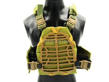 S.A.D. Low Profile - Tan Plate Carrier Vest