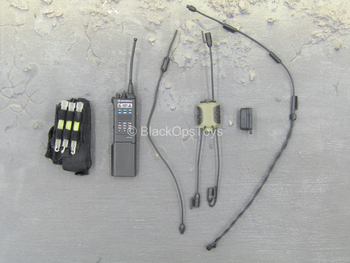 FBI - CIRG - Black Radio Set w/Pouch