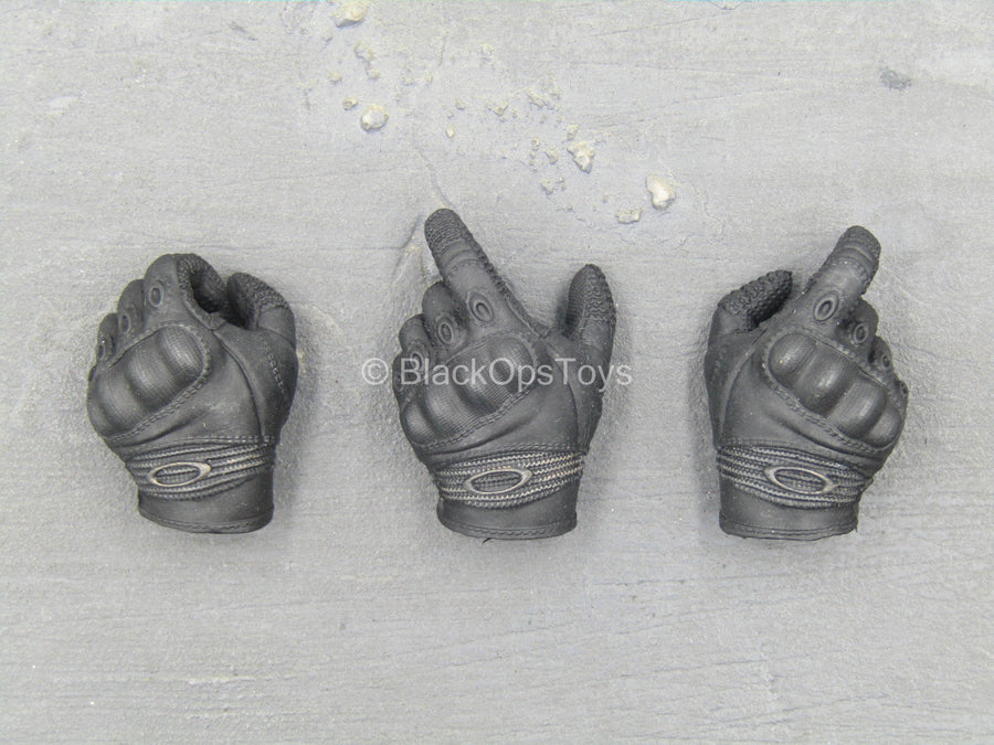 HAND - Black Right & Left Trigger Gloved Hand Set