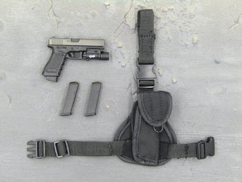 Spetsnaz FSB - 9mm Pistol w/Tac Light & Drop Leg Holster
