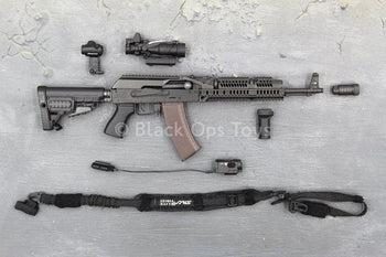 Russian Spetsnaz SOBR - AK-74M Rifle & Full Accessory Set