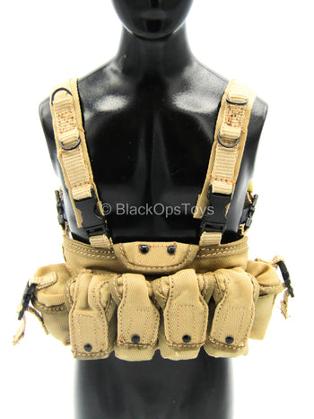 Modern Battlefield Ghost - Tan Chest Rig