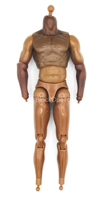Black Steel - African American Male Base Body