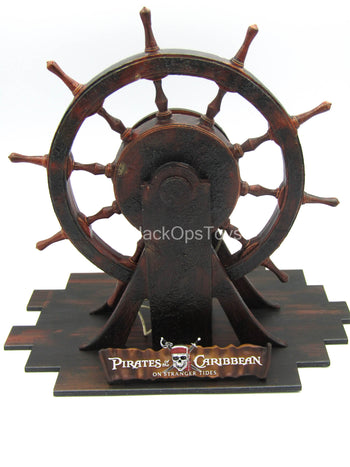 Pirates of the Caribbean - Boat Wheel Stand