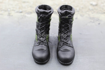 US Armed Forces - Sniper - Jungle Camo Boots (Foot Type)