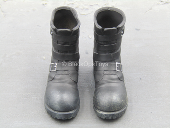 US Army Tanker Set - Black Combat Boots (Foot Type)