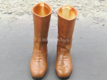 Star Wars - Obi-Wan - Brown Boots (Peg Type)
