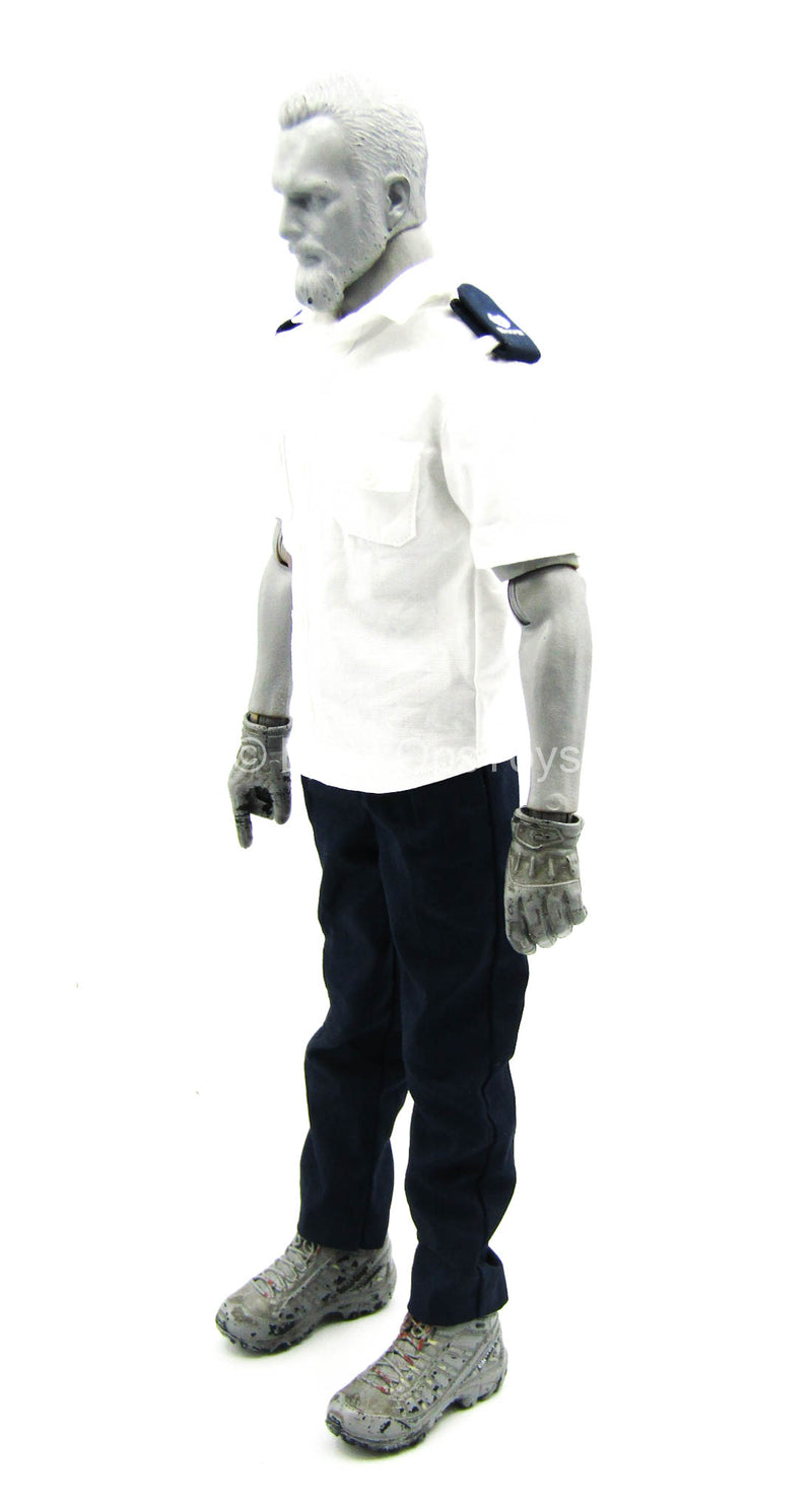 Emergency Unit - White Shirt w/Blue Pants