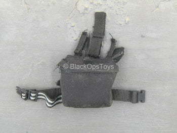USMC - 2ND FAST - Black Drop Leg Equipment Pouch