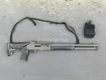 USMC - 2ND FAST - Black Semi-Automatic Shotgun w/Weapon Cache