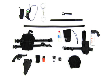 Emergency Unit - Revolver Pistol w/Pouch Accessory Set