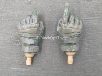 US Army EOD - Gray Gloved Hands