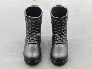 Emergency Unit - Black Boots (Peg Type)
