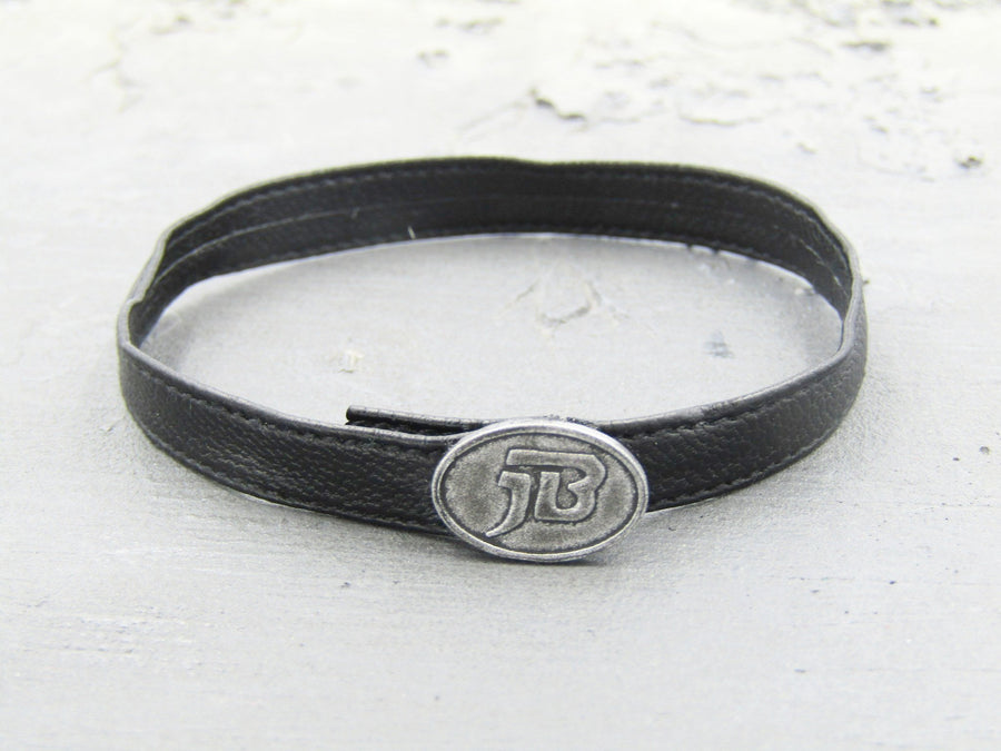 "GHOST RIDER - Black Belt w/""JB"" Buckle"