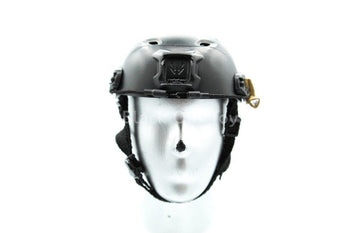 U.S. Navy Seal - Boarding Unit - Black FAST Helmet w/Light