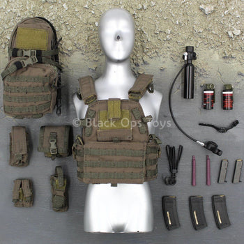 U.S. Navy Seal - Boarding Unit - Plate Carrier & Accessory Set