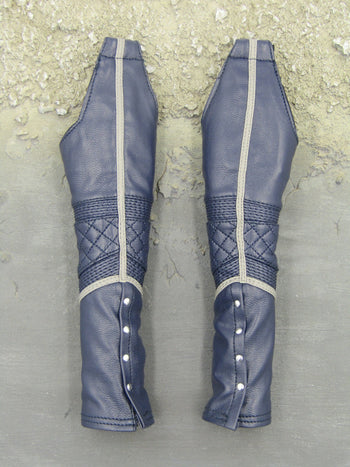 GHOST RIDER - Blue Leather Like Chaps