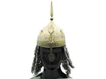Persian Empire - Bowman - METAL Helmet w/Chain Mail Neck Guard