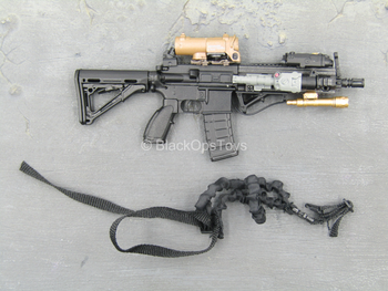 US Secret Service - Black HK416 Assault Rifle w/Attachment Set