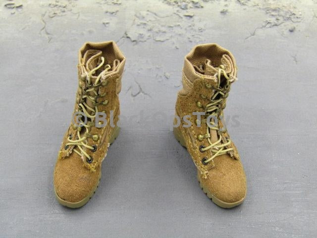CIA SOG Field Operator - Desert Combat Boots Foot Type