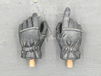 U.S. Navy Seal - Black Gloved Hand Set (x2)