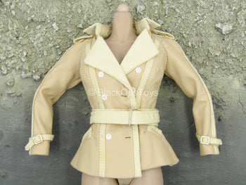 Black Widow - Tan Coat w/Missing Button