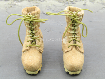 PMC - Operator - Tan Combat Boots (Foot Type)