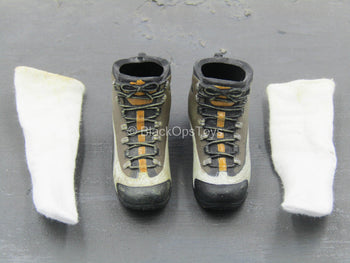 Special Duties Unit - Brown Combat Boots (Peg Type)