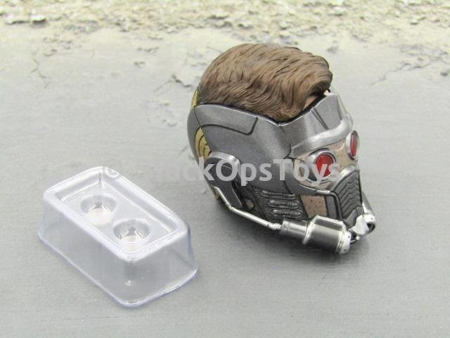 Hot Toys Guardians of the Galaxy Vol. 2 Star-Lord LED Light-Up Masked Headsculpt w/Batteries