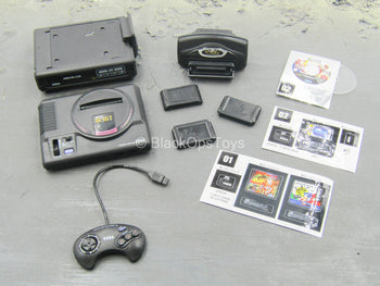 Gaming Systems - SEGA Mega Drive & Mega CD w/Controller & Games