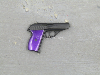 Kick-Ass 2 - Hit-Girl - Black & Purple Pistol