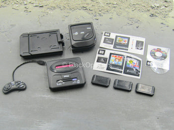 Gaming Systems - SEGA Mega Drive 2 & Mega CD 2 w/Games Set