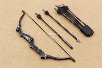 1/12 - Stealth Ops Gomez - Bow w/Quiver & Arrow Set