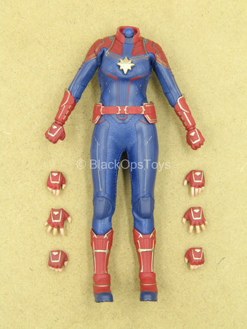 1/12 - Captain Marvel - Female Suited Body w/Hand Set