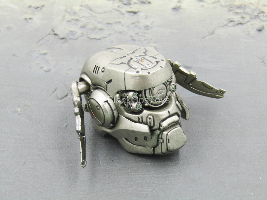 Appleseed Alpha - Briareos - Robotic Head Sculpt w/Posable Fins