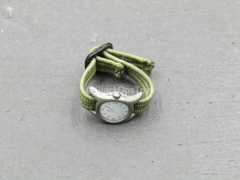 Platoon - Vietnam Barnes - Green Wrist Watch