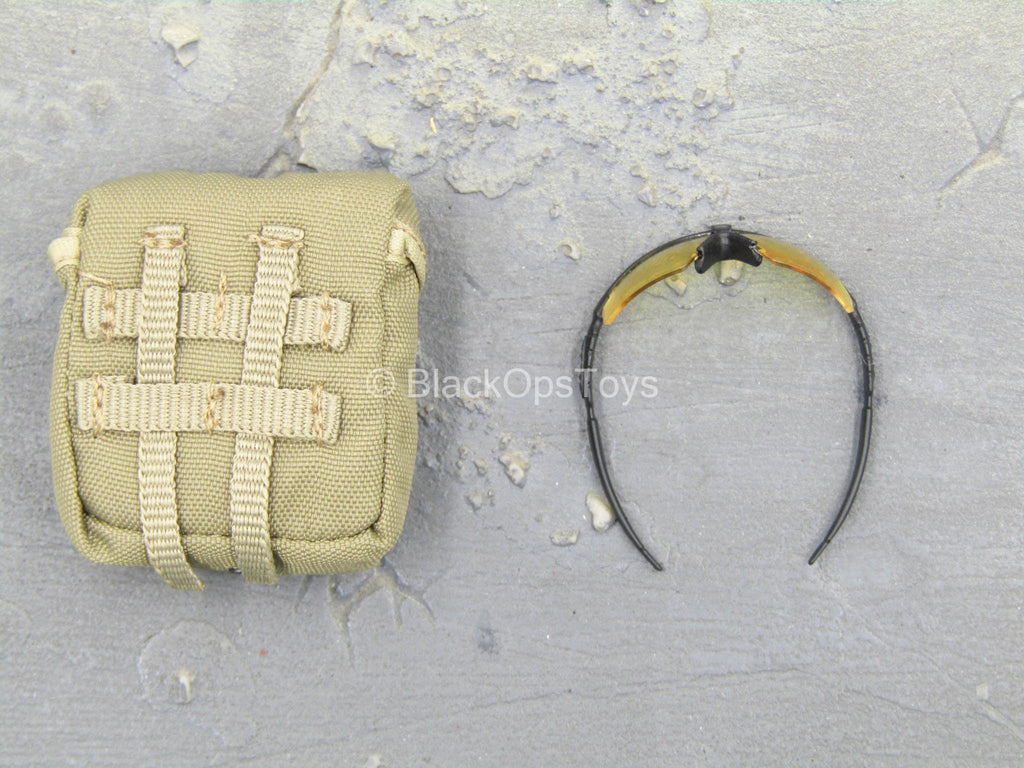USMC 2nd Expeditionary Battalion - MOLLE Tactical Pouch w/Glasses