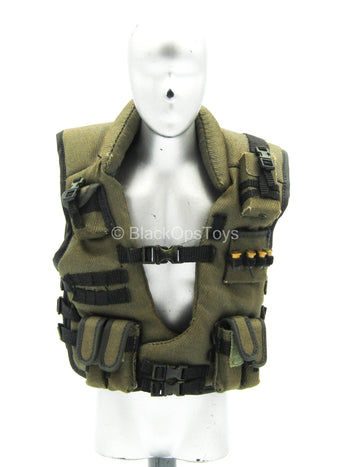 Appleseed Alpha - Briareos - OD Green Vest w/Pouches & Shells