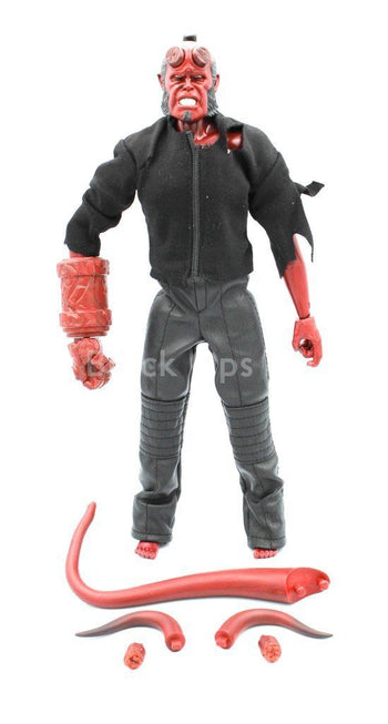 Hellboy - Male Base Body w/Head Sculpt & Tail