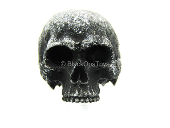 Black Weathered Decorative Skull