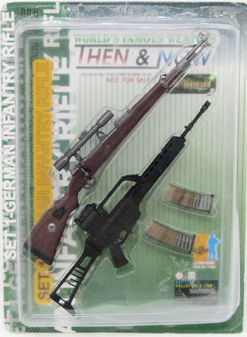 World's Famous Weapons Then and Now Set 1 German Infantry Rifle Mint in Box