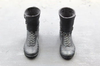 GI JOE - General Hawk - Black Boots (Peg Type)
