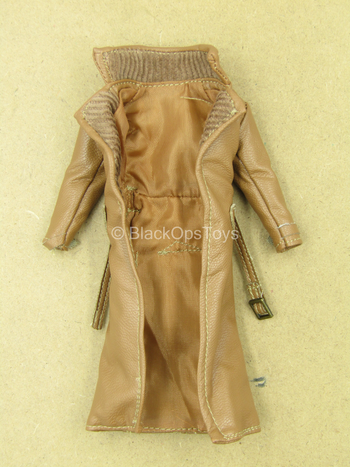Gambit - Brown Leather-Like Jacket